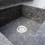 Steel Grey - Parabolischer Beckenboden