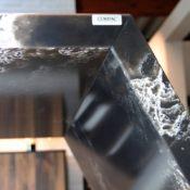 Compac Ice Black - Detail Untersicht Theke